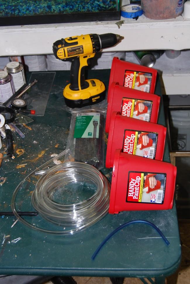 DIY Drip Water Exchange System. 05032010