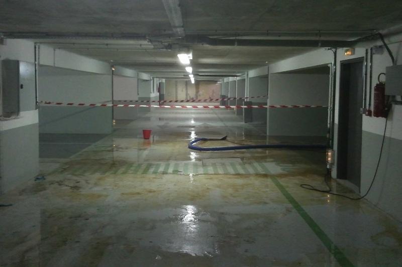 eau dans les parkings Innond10