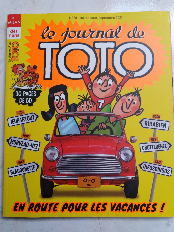 MAG de vacances Journal de TOTO 20210717