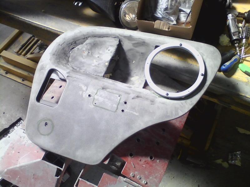 Custom Rear Trim/Armrest P1104110