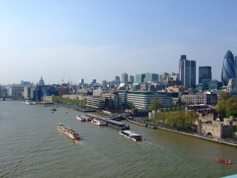 Photographie : La rive gauche de la Tamise depuis Tower Bridge Dscf4510