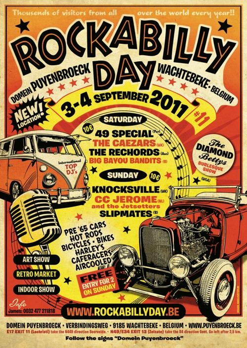 Rockabilly days 2011 (B) Affich10