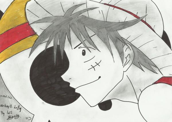 Mes dessins Luffy110