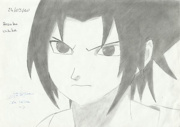 Mes dessins Sasuke10