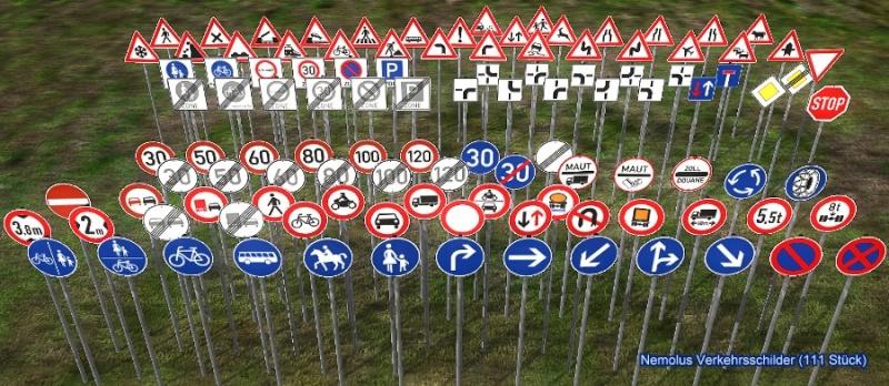 Deutsche Straßenschilder - German street signs (Update 02.06.2011) Nemolu10