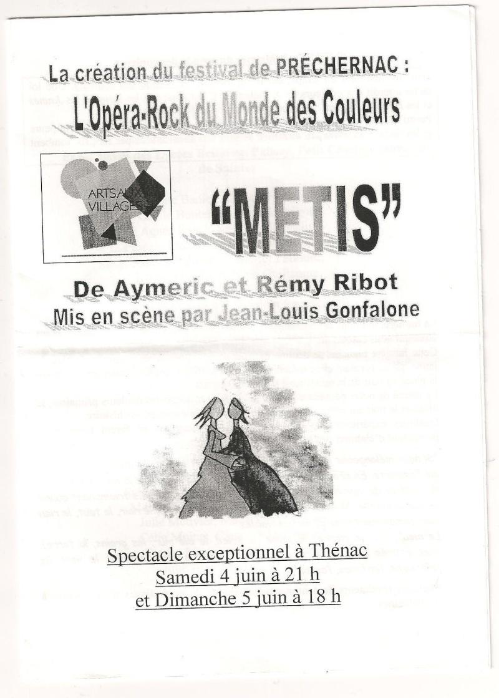 Métis [4 et 5 juin 2005] Image10