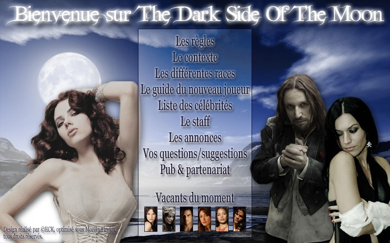 Bienvenue sur le forum The Dark Side Of The Moon