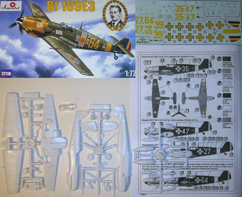 A-Model 1/72 Messerschmitt Bf109E3 roumain Kit72_10