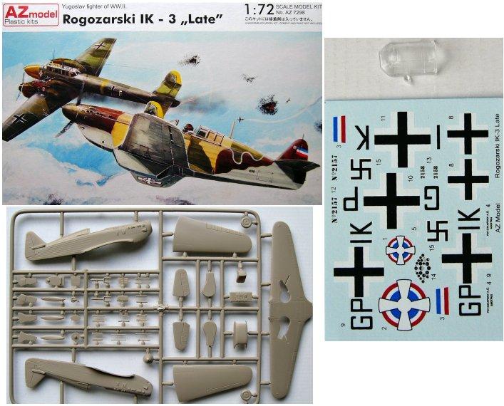 AZ-Models 1/72 Rogozarski IK3 Kit72_12