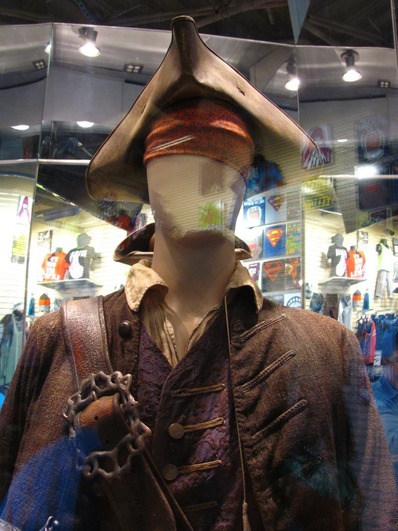 Jack Sparrow costume  on display at Hot Topic at Hollywood & Highland 56712110