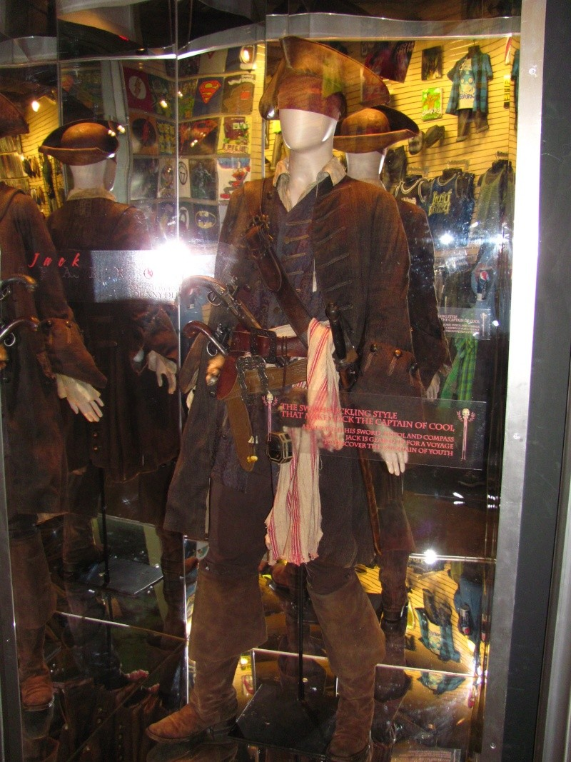 Jack Sparrow costume  on display at Hot Topic at Hollywood & Highland 56712111
