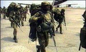 Zimbabwe National Army Zdf_tr10