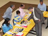 Simultaneous with Shirov in Leon 2011le10