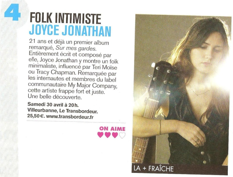 Top 42 - Semaine du 25-04-11 au 08-05-11 Joyce_10