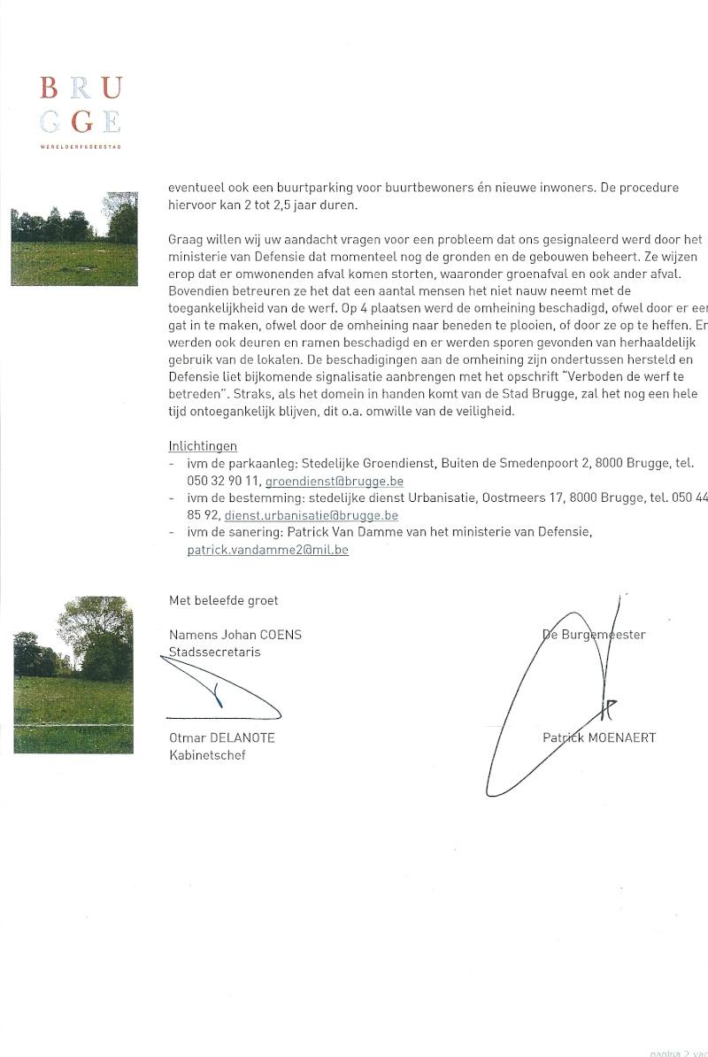 Stand de tir couvert à Assebroek (Bruges) Scanne77