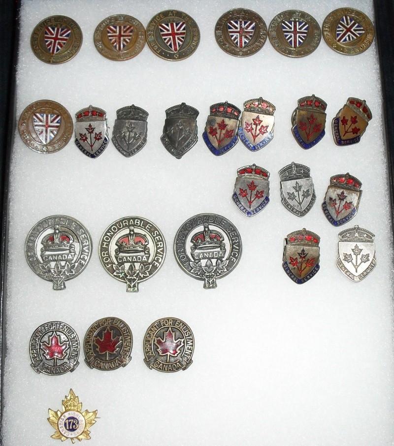 General Service Badge varieties Sdc16612