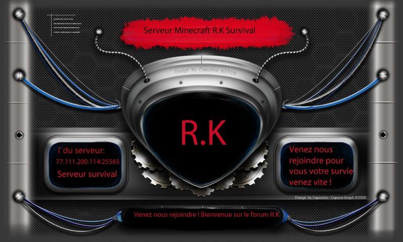Serveur minecraft-rk