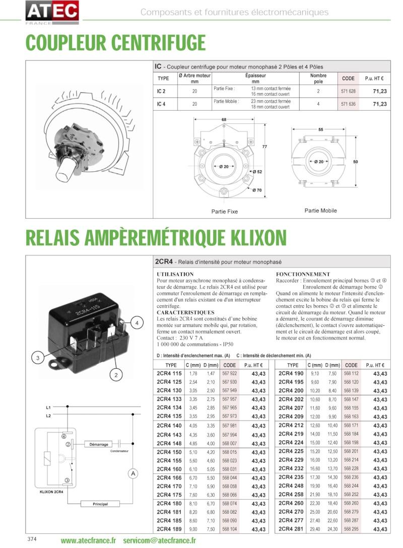 Remplacement d'un relai centrifuge par un relai temporisé Couple11