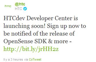 [Info] Le lancement des nouveaux services de HTC dans quelques jours: HTC Dev et OpenSense SDK  Captur11