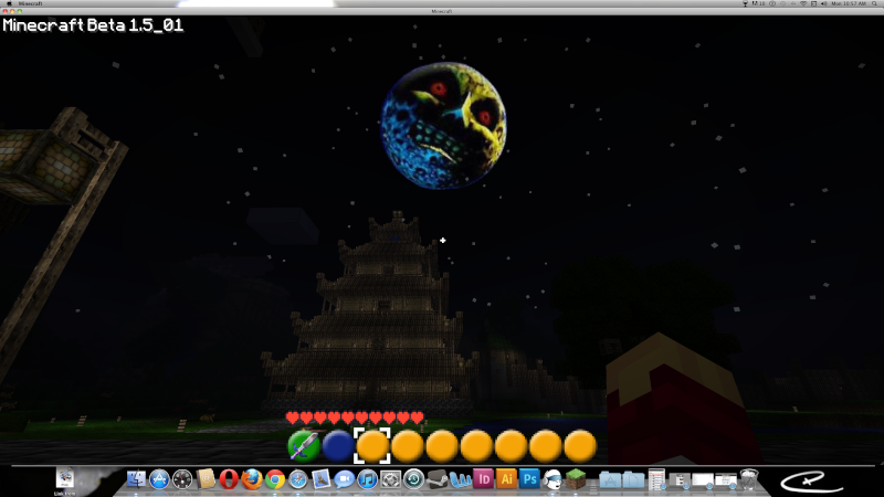 A nifty shot with majora's mask moon Screen11
