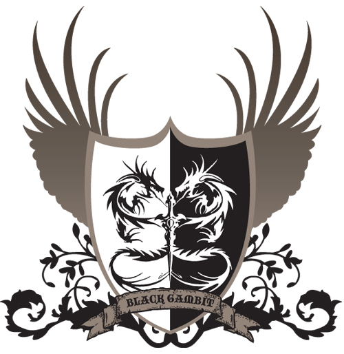 The Black Gambit (Coat of Arms) Dragon10