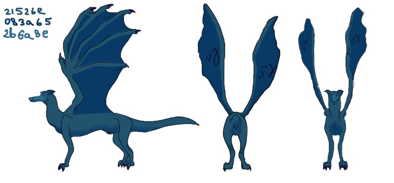 Dragon Color Test Dragon12