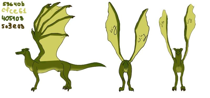 Dragon Color Test Dragon13