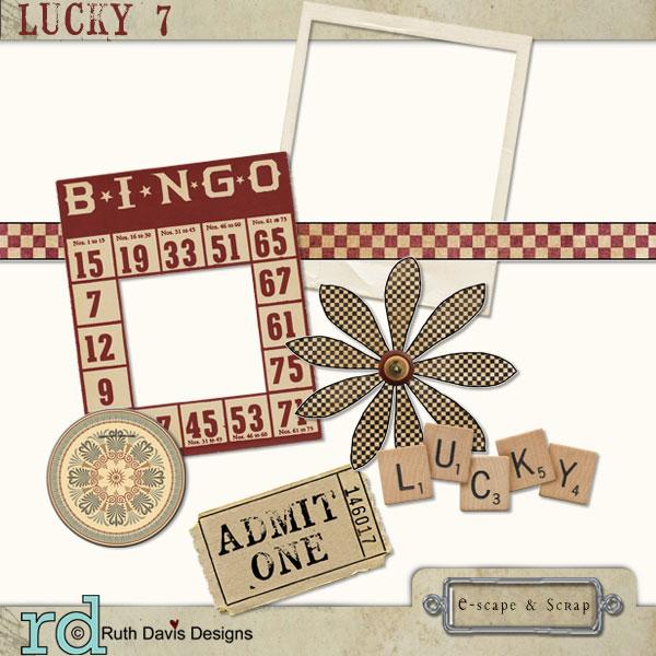 Lucky 7 Collab Kit Lucky712