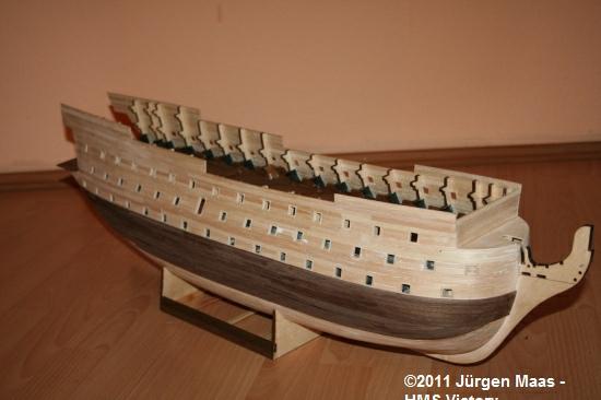 Jürgen's Baubericht Victory aus Holz 1:84 Hms_vi30