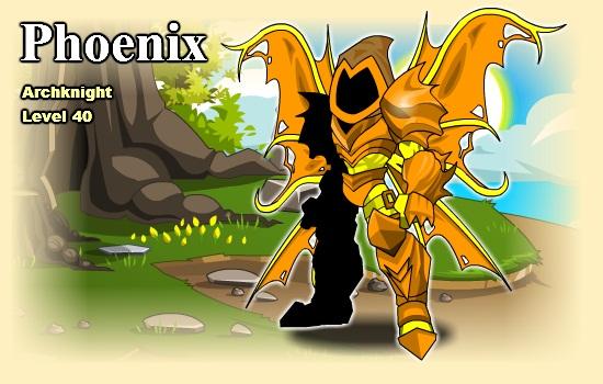 Custom AQWorlds Character (Shop) Phoeni10