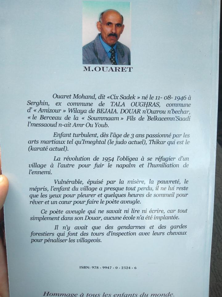 Mohand Sadek Ouaret à Aokas  le samedi 19 Octobre 2019 1137