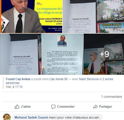 Mohand Sadek Ouaret à Aokas  le samedi 19 Octobre 2019 - Page 2 1146