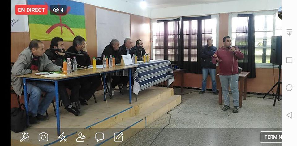 conférence du Pacte de l'alternative Démocratique à Aokas le mercredi 20 novembre 2019  1165