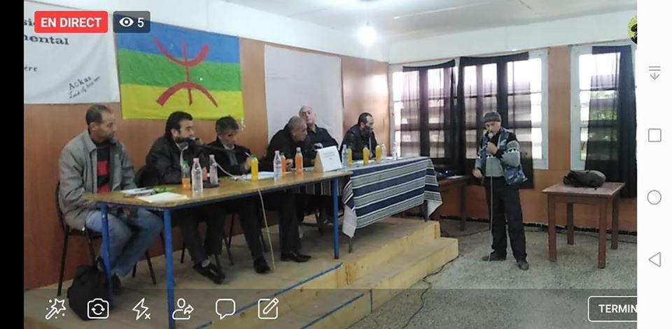 conférence du Pacte de l'alternative Démocratique à Aokas le mercredi 20 novembre 2019  1166