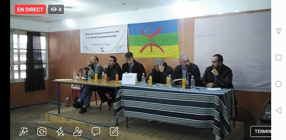 conférence du Pacte de l'alternative Démocratique à Aokas le mercredi 20 novembre 2019  1167