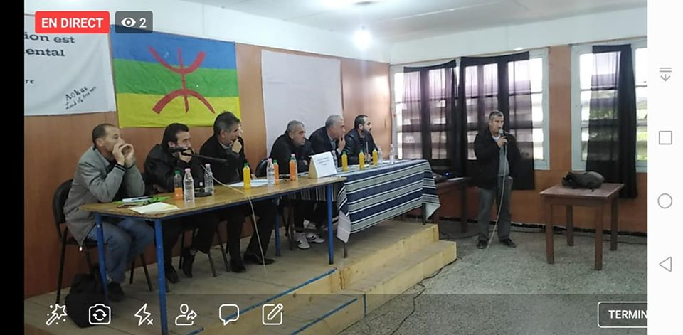 conférence du Pacte de l'alternative Démocratique à Aokas le mercredi 20 novembre 2019  1170