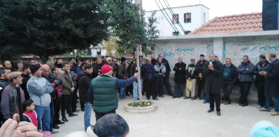 Rassemblement à Aokas contre les élections du 12 décembre 2019 (mercredi 20 novembre 2019) 1186
