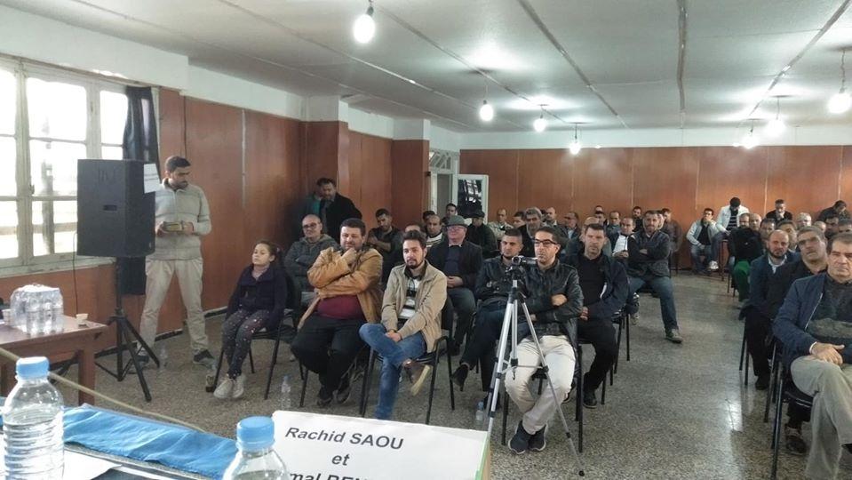 Rachid Saou et Djamel Benyoub, à Aokas le samedi 14 décembre 2019 - Page 2 1205