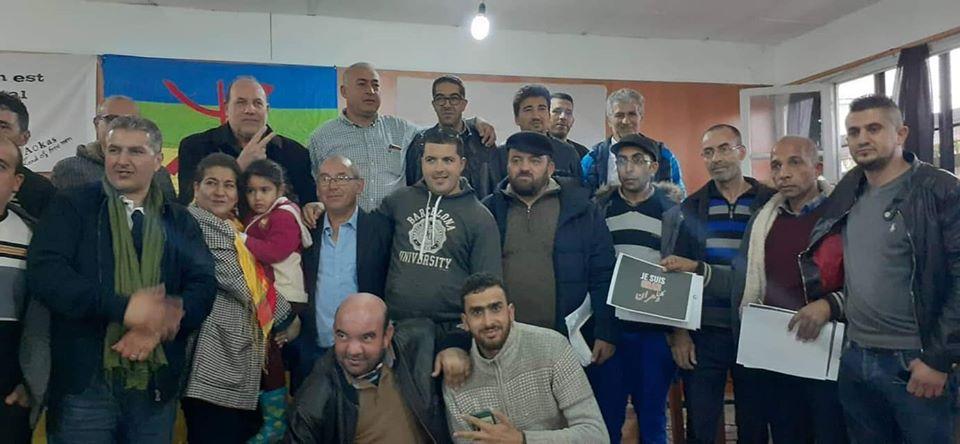 Rachid Saou et Djamel Benyoub, à Aokas le samedi 14 décembre 2019 - Page 2 1235