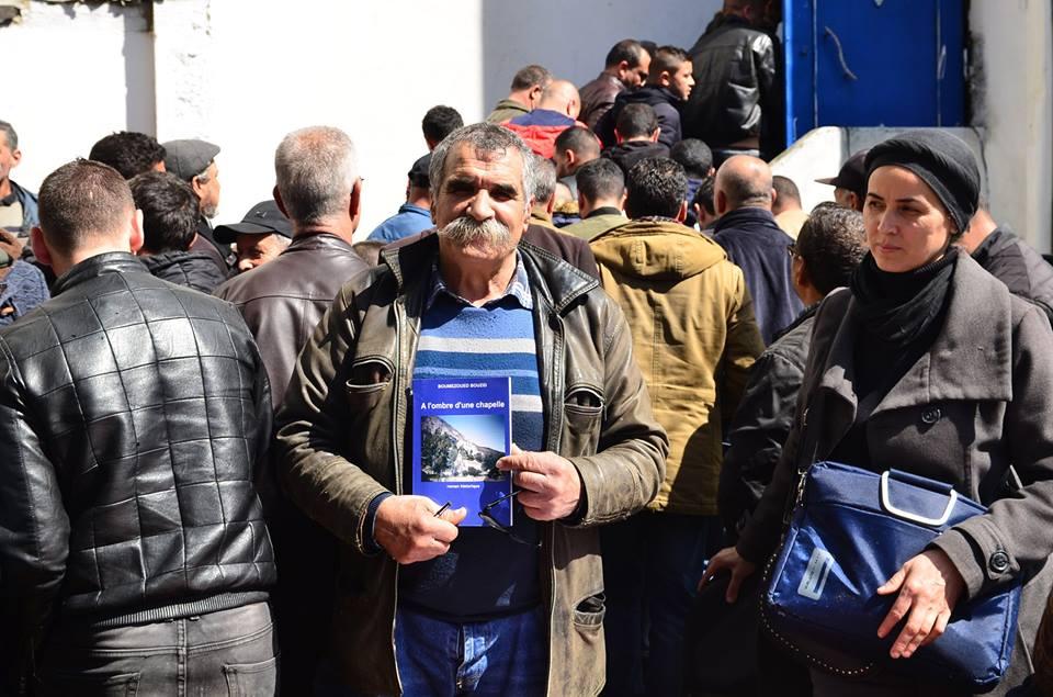 Vente dédicace du dernier roman de Bouzid Boumezoued à Aokas le samedi 06 Avril 2019 156