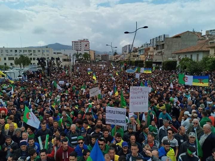 Marche à Béjaia contre le système, 7 éme vendredi  05 Avril 2019 178
