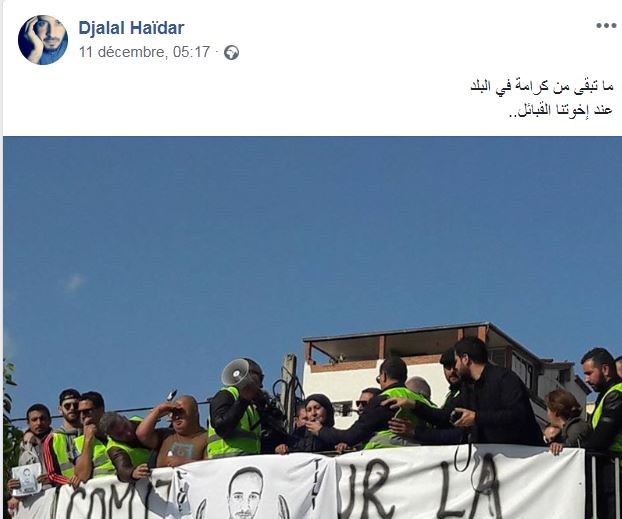 marche des libertés le 10 décembre 2018 à Bejaia pour libérer Merzouk Touati et tous les détenus d'opinion - Page 3 Captur10