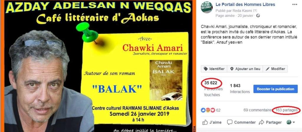 Chawki Amari à Aokas le samedi 26 janvier 2019 Captur14