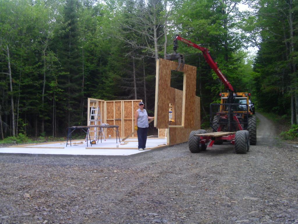 Projet d'été, contruction de cabane Pict0117