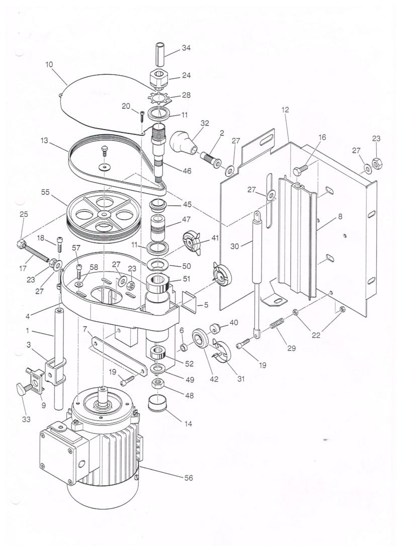 Essai d'utilisation de la toupie du combiné en defonceuse sous table Detail10
