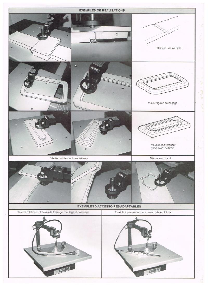 Essai d'utilisation de la toupie du combiné en defonceuse sous table Routeu10