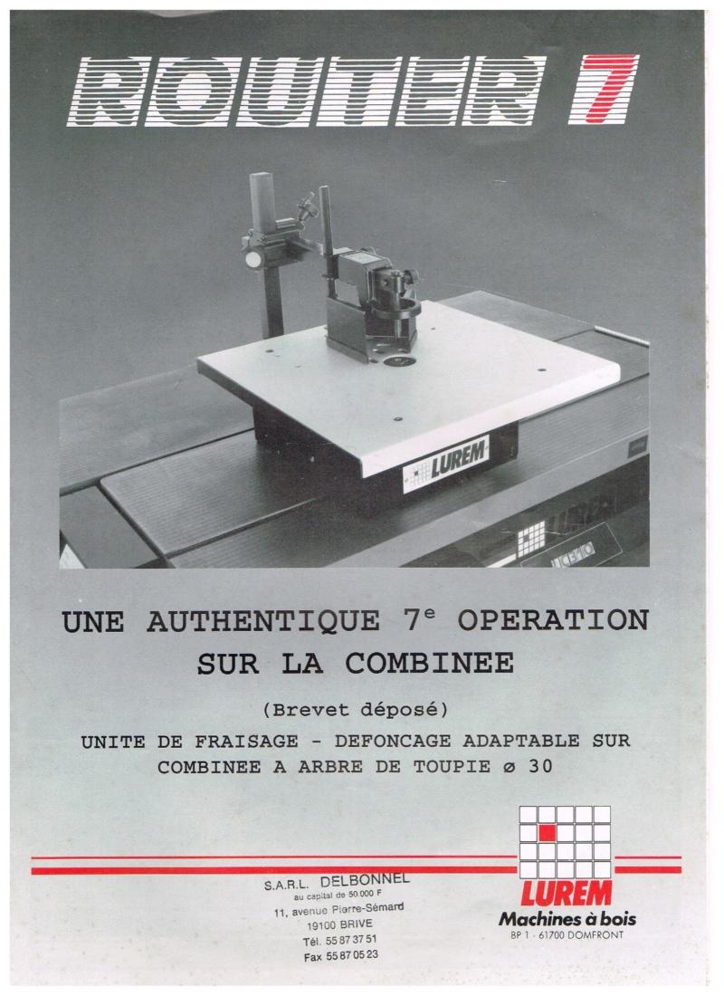 Essai d'utilisation de la toupie du combiné en defonceuse sous table Routeu12