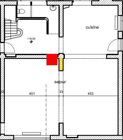 Poêle contre un mur ou décollé? (+ implantation générale... et questions diverses) Base10