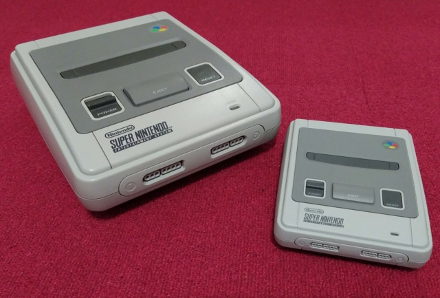 SNES-Mini VS SNES originale Img_2032