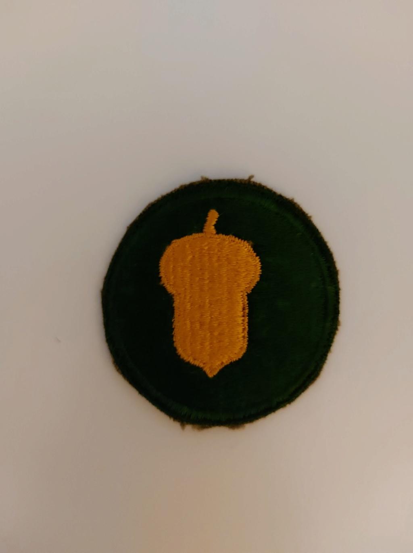 Patch 87th Infantry Divison US - période? 15661310